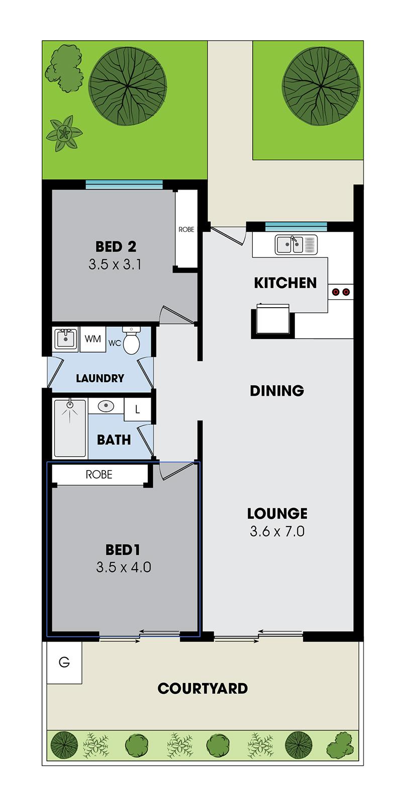 villa internal layout 2
