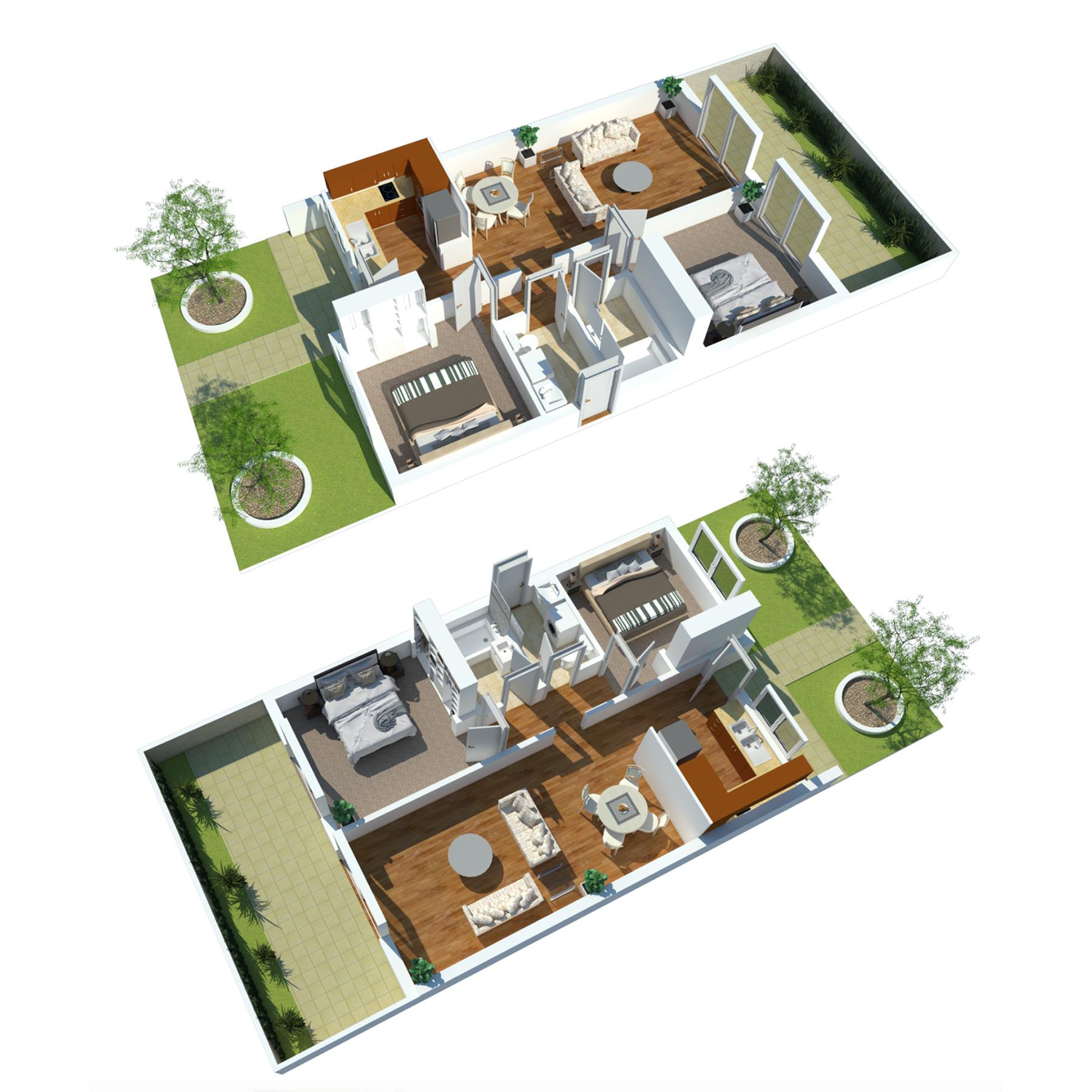 retirement villa layout 2