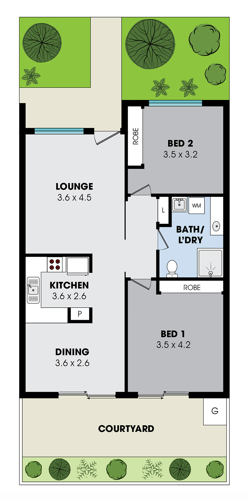 villa internal layout 3
