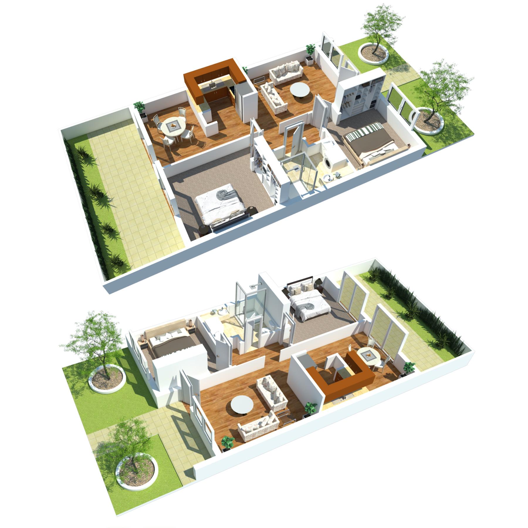 retirement villa layout 3